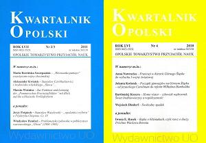Kwartalnik Opolski